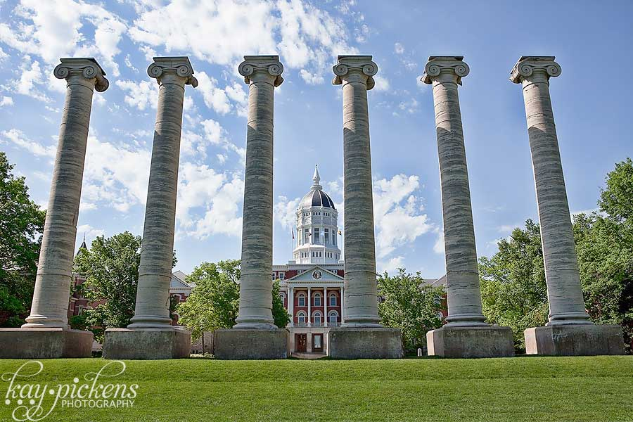 Columns at university of missouri Columbia