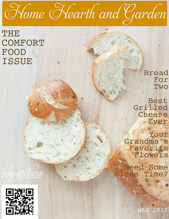 Food Photography Magazine Cover