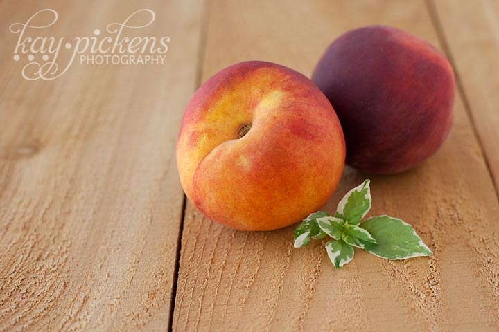 peaches for frozen yogurt