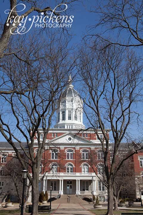 jesse hall at Mizzou admin building
